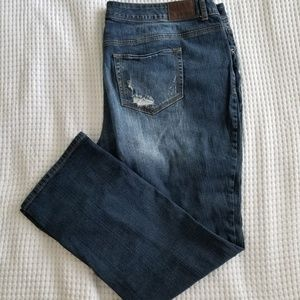 Maurices Straight Leg Jeans Plus Size 24w
